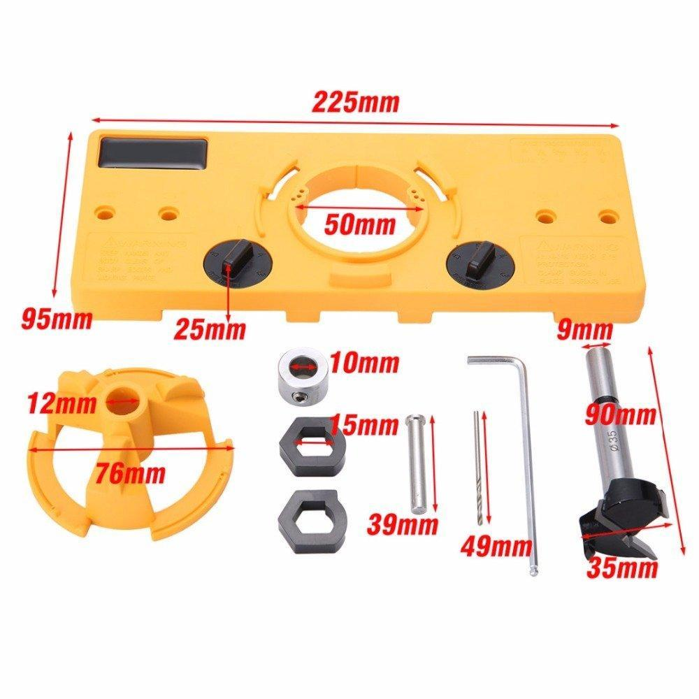 35mm Hinge Jig Drill Guide Set