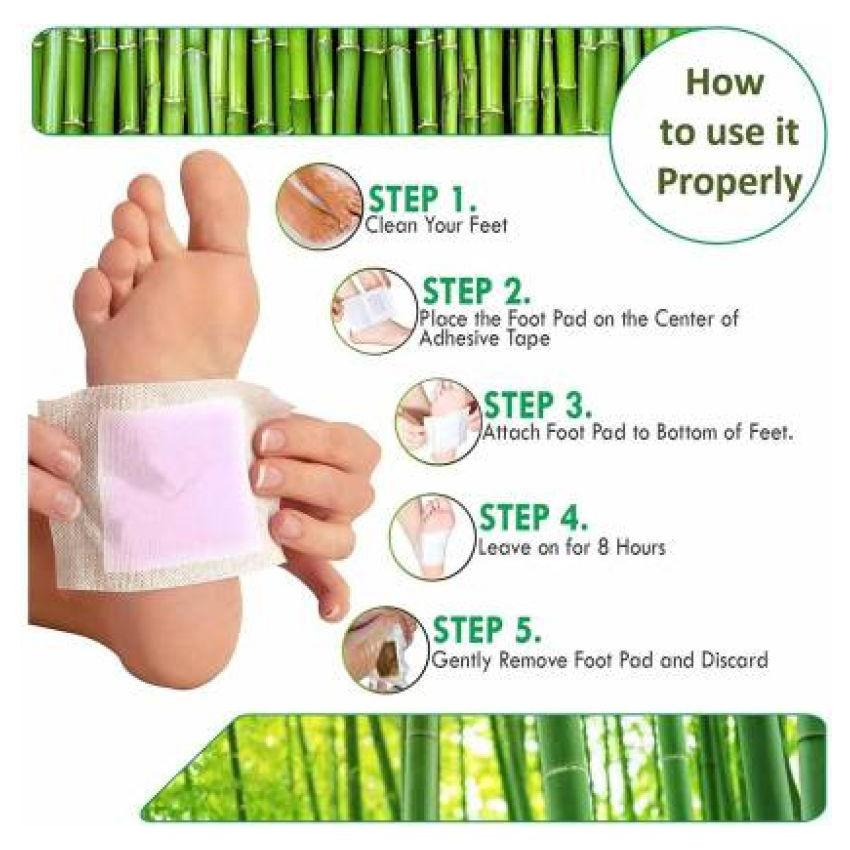 Ginger Detox Foot Pads ( 20 Pieces )