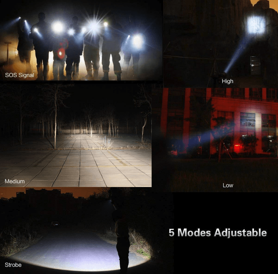 ULTIMATE POWER LED FLASHLIGHT