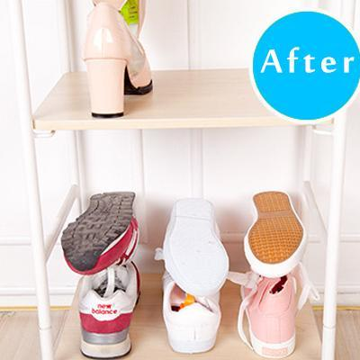 Plastic Storage Shoes Rack