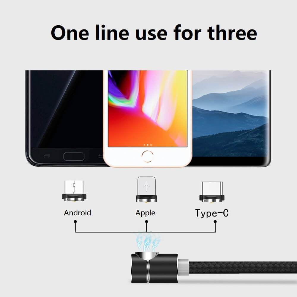 BOSS™ Cable - 360° Magnetic Charging Cable
