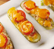 Tuna Melt Pickle Boats
