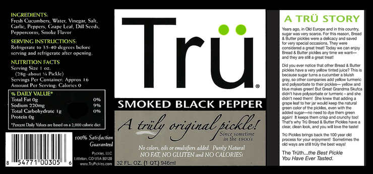Trü Smoked Black Pepper