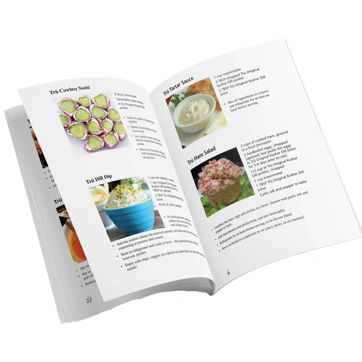 Trü Pickles Recipe Book