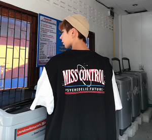 [Korean Style] Miss Control Printing Vest