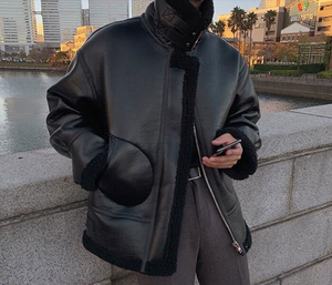 [Korean Style] 2 Colors Twill Mustang Rider Jackets