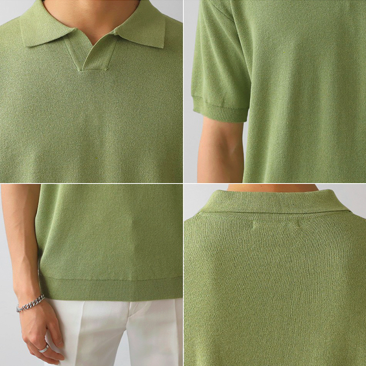 [Korean Style] 3 Colors Basic Polo Shirts