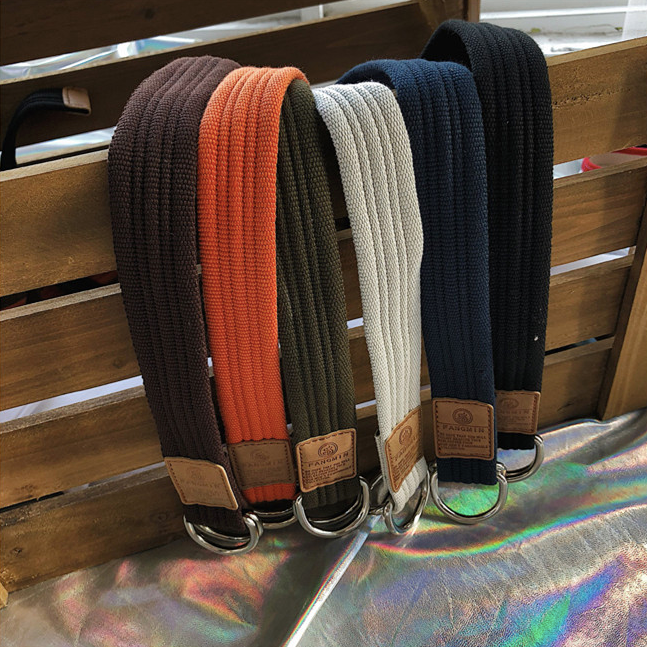 [Korean Style] Retro Canvas Casual Belts