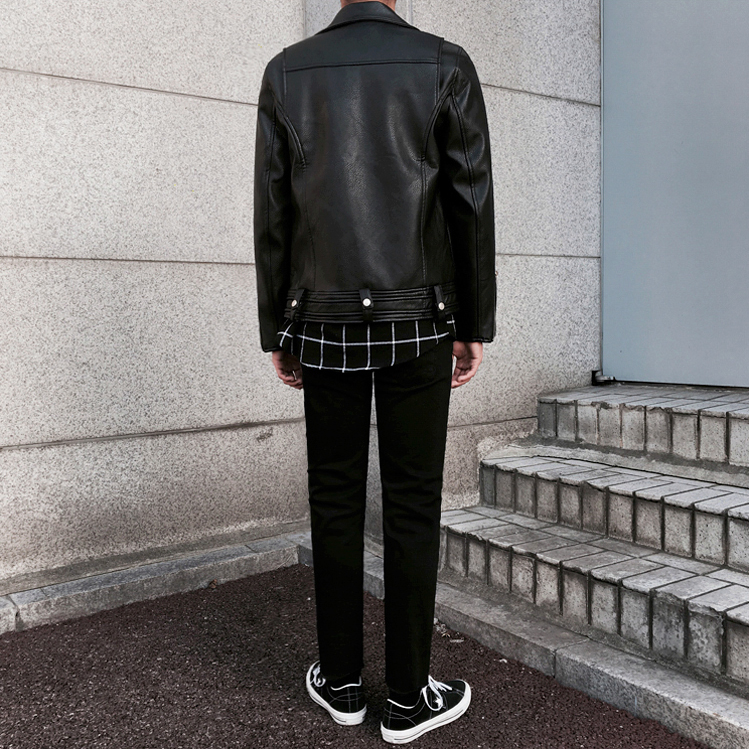 [Korean Style] Loco Faux Leather Jackets