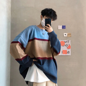[Korean Style] Patchwork Casual Oversized Sweaters