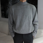 [Korean Style] 4 Colors High-Quality Solid Turtlenecks