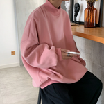 [Korean Style] 4 Colors Turtleneck Sweatshirts