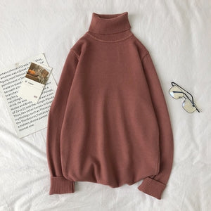 [Korean Style] Leo 9 Colors Turtleneck Sweaters