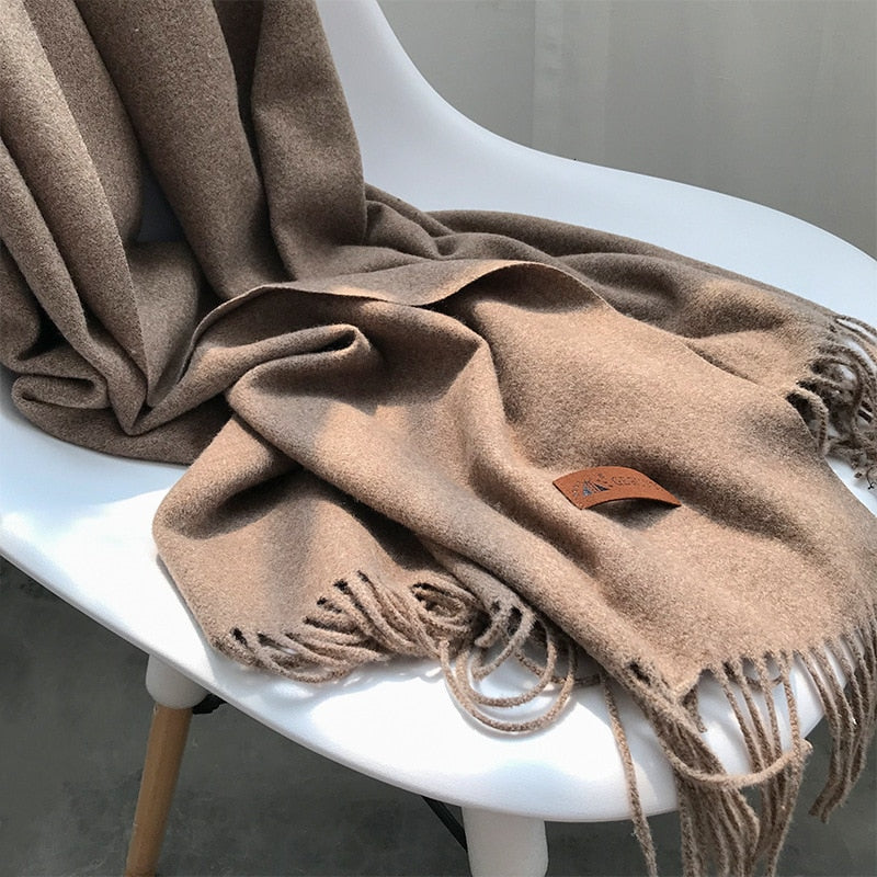 [Korean Style] Harper Unisex Solid Color Scarf 12 Colors