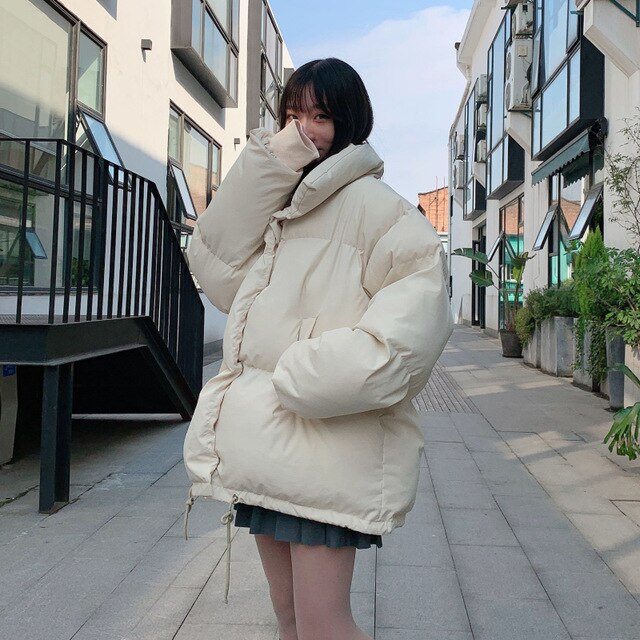[Korean Style] Unisex Puff Bubble Coats