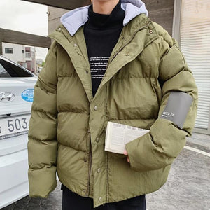 [Korean Style] Laxx Detachable Hooded Jackets