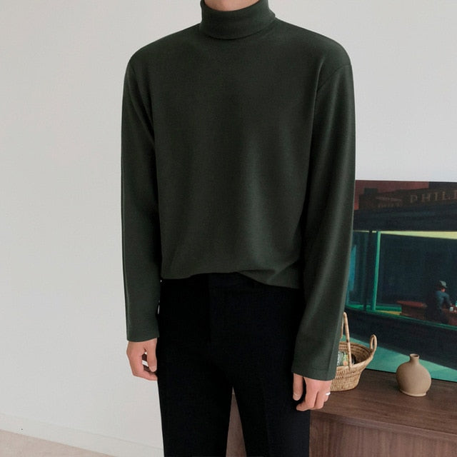 [Korean Style] Dory 3 Colors Turtleneck