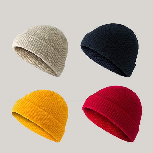 [Korean Style] Colorful Basic Leon Beanies
