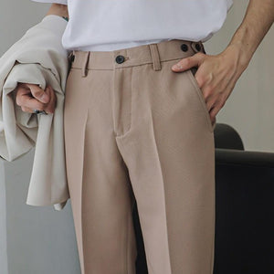 [Korean Style] 3 Colors Botti Slim-Fit Casual Pants