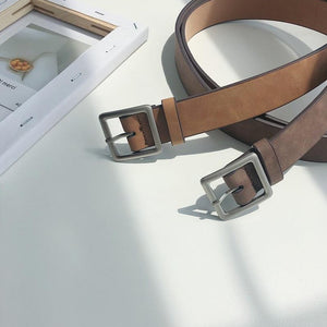 [Korean Style] Apro Casual Buckle Belts