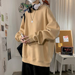 [Korean Style] Daily Basic Oversized Sweatshirts