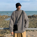 [Korean Style] Cashmere Blend Turtleneck Sweaters
