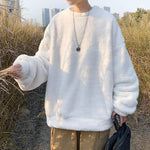 [Korean Style] Morris Fleece Sweatshirts