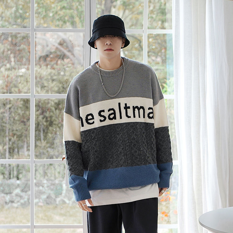 [Korean Style] Crocheted Wool Pullover Sweater