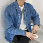 [Korean Style] Ness Casual Denim Jackets