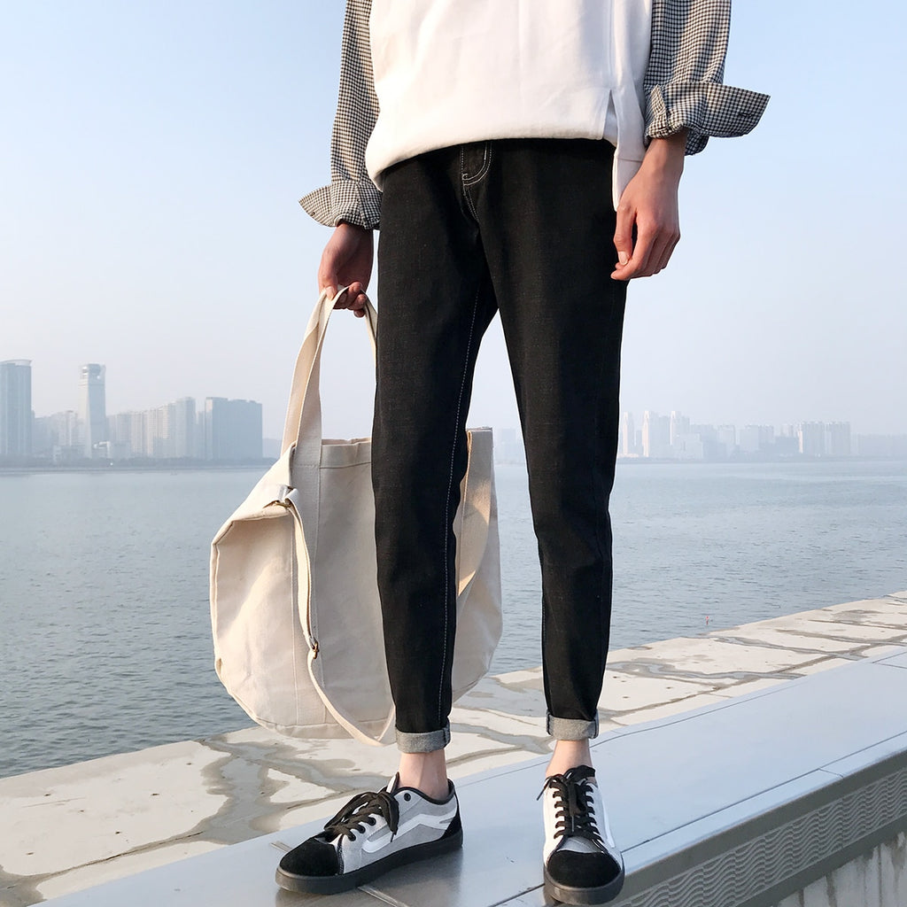 [Korean Style] Enzyme Casual Pencil Pants