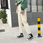 [Korean Style] Vanilla Casual Straight Denim Pants