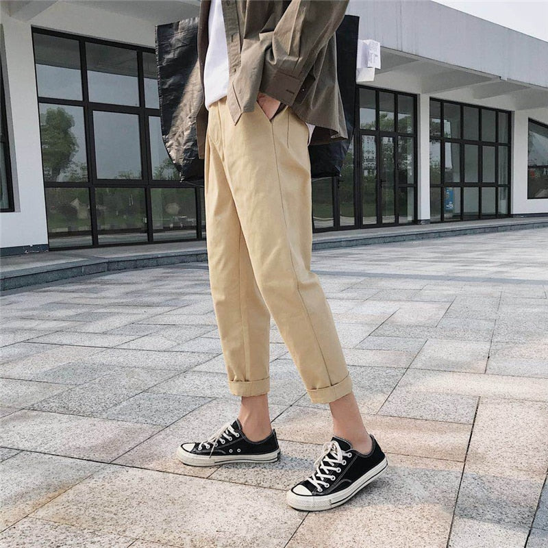 [Korean Style] Cony Ankle-Length Pants