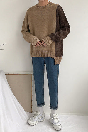 [Korean Style] Casual Preppy Sweater