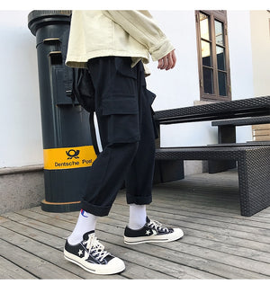 [Korean Style] Bien Casual Cargo Pants