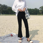 [Korean Style] Cod Casual Ankle Length Flare Pants