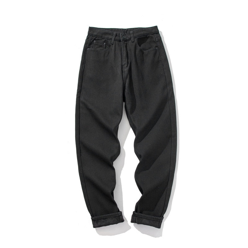 [Korean Style] Lucus Casual Straight Color Denim Pants