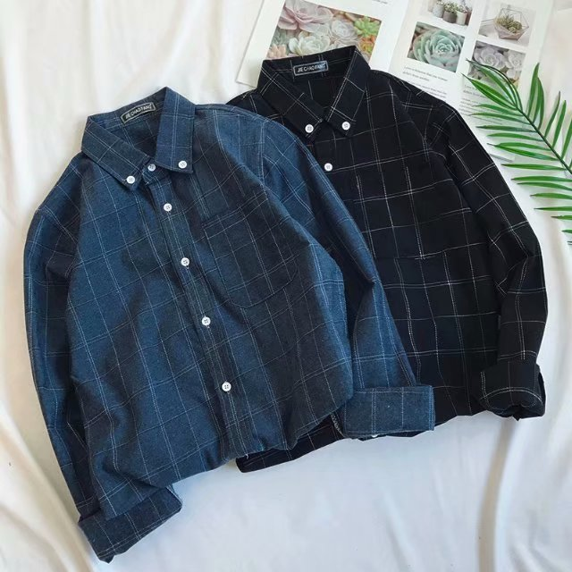 [Korean Style] Sevone Single Breasted Shirts