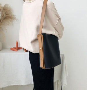 [Korean Style] Casa Minimal Bucket Shoulder Bag