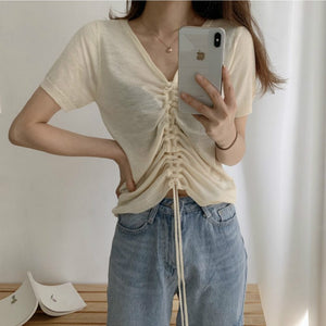 [Korean Style] Jeeh Knit Top