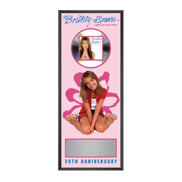 …Baby One More Time Anniversary Plaque