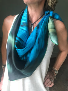 Blue Wing Teal Scarf