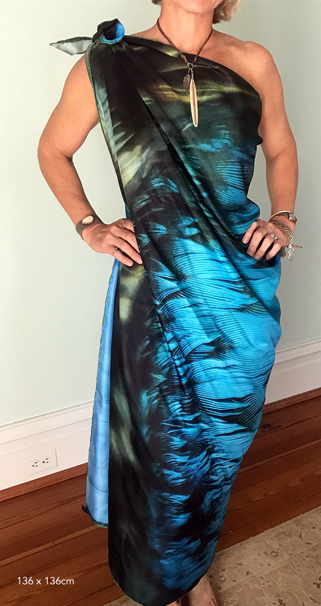 Blue Wing Teal Wrap