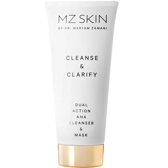 Image: MZ Skin CLEANSE & CLARIFY Dual Action AHA Cleanser & Mask