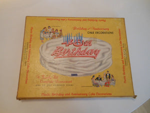 1950's Birthday & Anniversary Cake Decorations