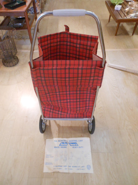 Cari-Cart Vintage Folding Shopping Cart