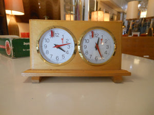 Jerger Schachuhr Analog Chess Clock