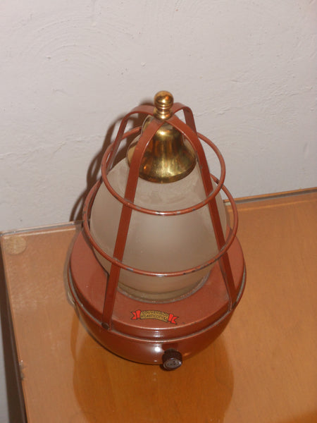 Vintage Souvenir Nautical Bar Light