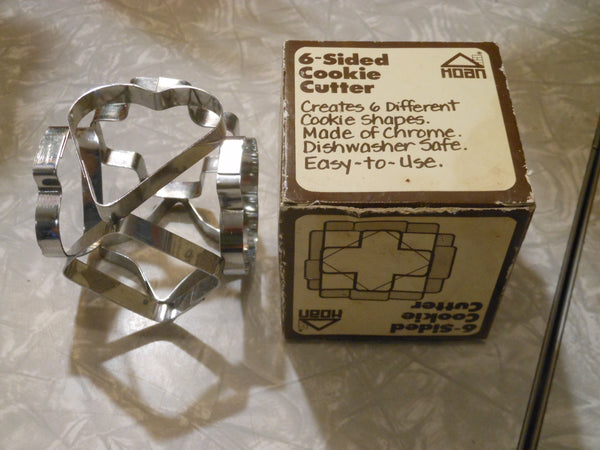 Vintage 6-Sided Cookie Cutter