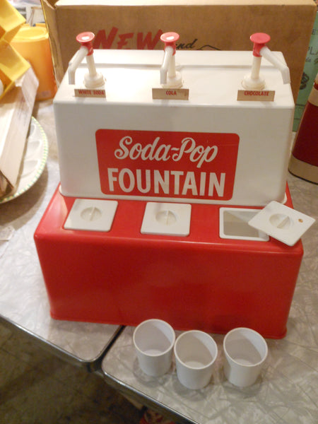 Soda Jerk Toy Soda-Pop Fountain
