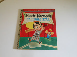1954 Rootie Kazootie by Steve Carlin Little Golden Book